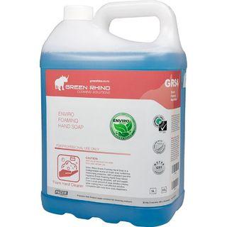 GREEN RHINO ENVIRO FOAMING HAND SOAP (GRS4-5) 5L EA