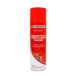 MOTORTECH CARBURETTOR AND THROTTLE BODY CLEANER AEROSOL 400G EA