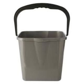 FORECOURT BUCKET SQUARE - GREY HD GREY