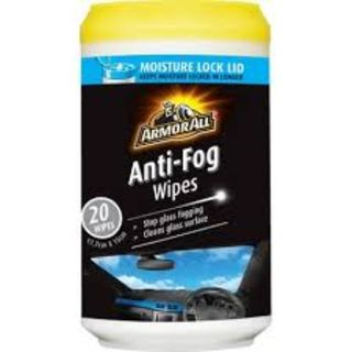 ARMOR ALL ANTI-FOG WIPES EA
