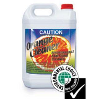 ORANGE BASED ALL PURPOSE HARD SURFACE CLEANER 5L EA