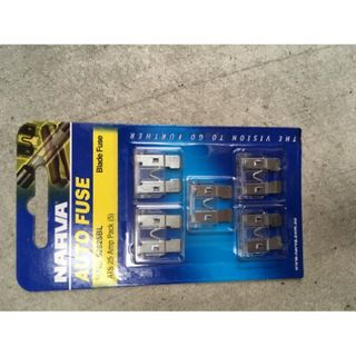 NARVA BLADE FUSE 25AMP PACK OF 5 BLISTER 52825BL