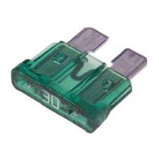 NARVA BLADE FUSE 30AMP PACK OF 5 BLISTER 52830BL