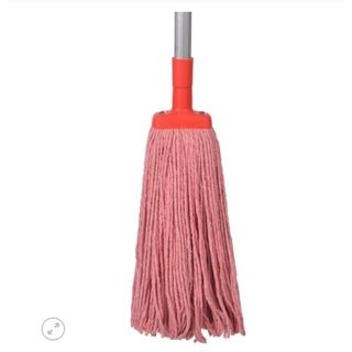 MOP HEAD REFILL COTTON RED 350GM EA