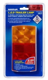 NARVA LED ML36 RECT SLIM 9/33V LAMP BLISTER 93632BL