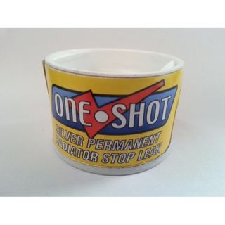 ONE SHOT RADIATOR STOP LEAK SILVER BOX/12