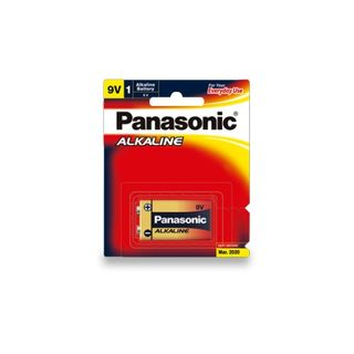 PANASONIC ALKALINE BATTERY 9V BL/1