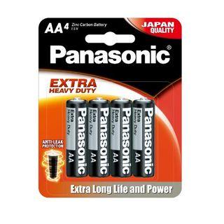 PANASONIC EXTRA HD BATTERY AA/4