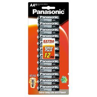 PANASONIC EXTRA HD BATTERY AA/12