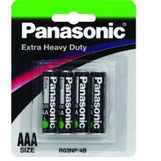PANASONIC EXTRA HD BATTERY AAA/4