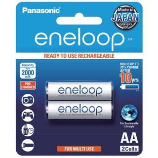 PANASONIC eneloop RECHARGEABLE BATTERY AA/2 Rechargeable