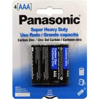 PANASONIC SHD BATTERIES AAA/4