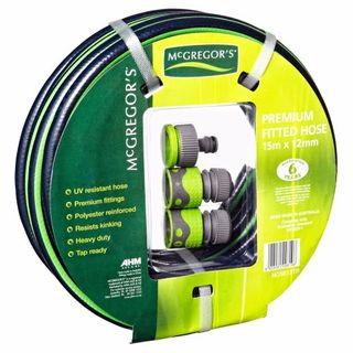 MCGREGORS GARDEN HOSE MULTIPURPOSE GREEN 15M EA