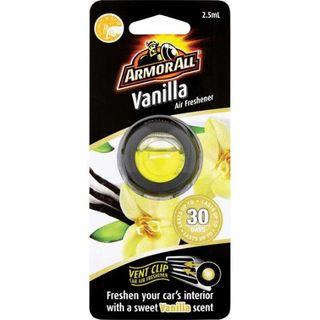 ARMOR ALL AIR FRESHENER VENT - VANILLA BOX/6