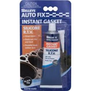 SELLEYS AUTOFIX INSTANT GASKET BLACK TUBE 75G BL/1