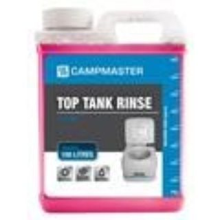 CAMPMASTER CHEMICAL TOILET TOP TANK RINSE AND SANITISER 1L EA