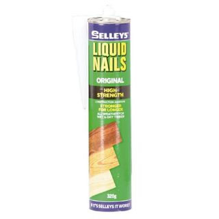 SELLEYS LIQUID NAILS ORIGINAL CARTRIDGE 375ML EA
