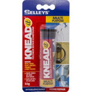 SELLEYS KNEAD IT EPOXY REPAIR (MULTIPURPOSE) TUBE 50G BL/1