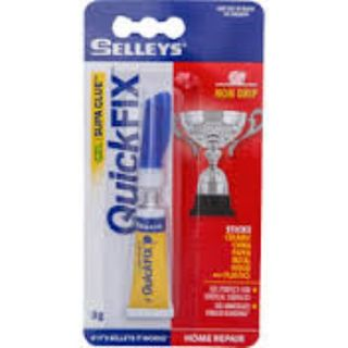 SELLEYS QUICK FIX SUPA GLUE GEL NON DRIP 3ML BL/1