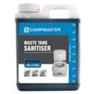 CAMPMASTER CHEMICAL TOILET WASTE TANK SANITISER 1L EA