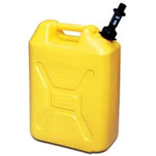 SCEPTER FUEL CAN YELLOW TALL 20L EA