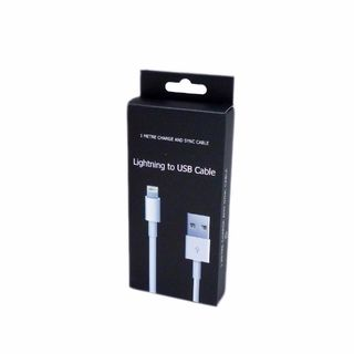 LIGHTNING TO USB CABLE - IPHONE 5 BOXED 1M