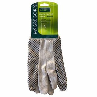 MCGREGORS GLOVE POLKA-DOT SMALL EA/PAIR