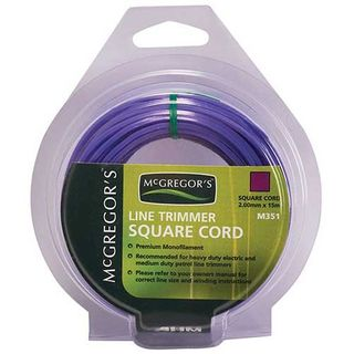 MCGREGORS LINE TRIMMER CORD PURPLE 2MM X 15M EA