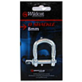 WILDCAT D SHACKLE 8MM BL/1