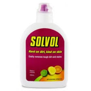 SOLVOL HEAVY DUTY HAND CLEANER WITH CITRUS OILS 250ML EA