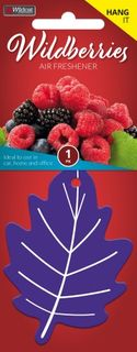 LEAF SCENT AIR FRESHENER WILDBERRY PACK/1