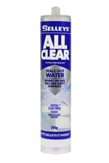 SELLEYS ALL CLEAR SEALANT CARTRIDGE 260G BOX/12