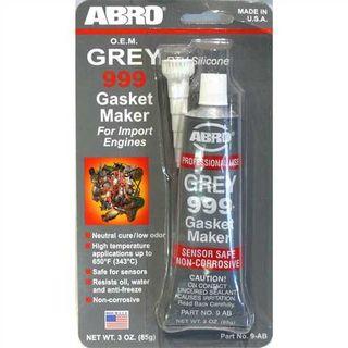 ABRO RTV SILICONE GASKET MAKER GREY 85G BL/1