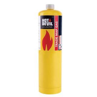 HOT DEVIL TRADE MAP GAS CYLINDER 400GM EA
