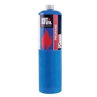 HOT DEVIL PROPANE GAS CYLINDER 400GM EA