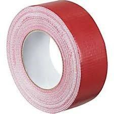CLOTH TAPE - RED 48MM X 5M