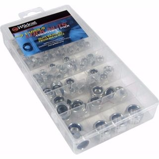 WILDCAT LOCK NUTS ASSORTED M4-M12 EA/CASE