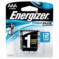 ENERGIZER MAX PLUS AAA BL/4