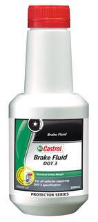 CASTROL BRAKE FLUID DOT 3 500ML EA