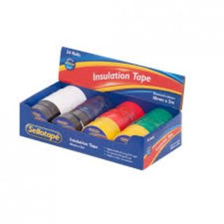 SELLOTAPE INSULATION TAPE - ASSTD 5M
