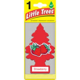 AIR FRESHENERS LITTLE TREES STRAWERRY BL/1