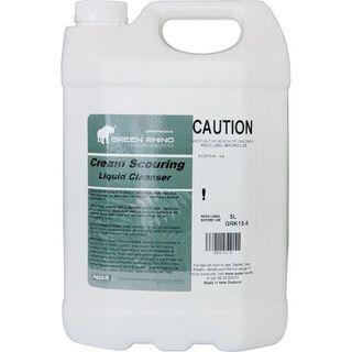 GREEN RHINO CREAM SCOURING CLEANSER (GRK15-5) 5L EA