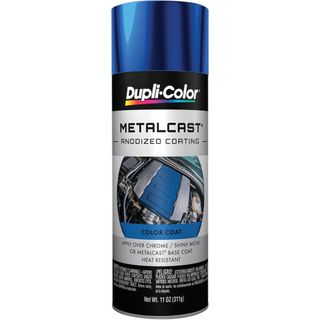 DUPLI-COLOR METALCAST AUTOMOTIVE PAINT BLUE AEROSOL 312G EA