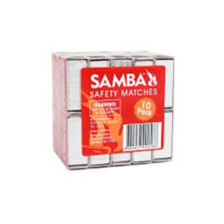 SAMBA SAFETY MATCHES PKT/10