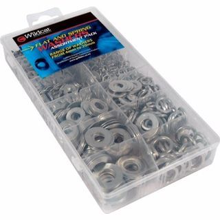 WILDCAT WASHERS FLAT AND SPRING ASSORTED 4-20MM EA/CASE