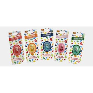 AIR FRESHNERS JELLY BELLY -  STRAWBERRY JAM BOX/6