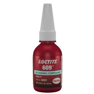 LOCTITE 609 RETAINING COMPOUND HIGH STRENGTH 10ML EA