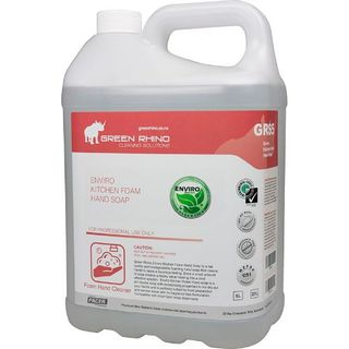 GREEN RHINO KITCHEN FOAM SOAP (GRS5) 5L EA