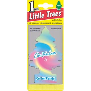 AIR FRESHENERS LITTLE TREES COTTON CANDY BL/1