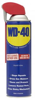 WD-40 CLASSIC WITH SMART STRAW 350GM/429ML AEROSOL EA